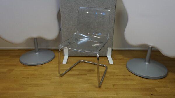 Konferensstol Skålad - IKEA #3065 - Stockholms Kontorsmöbler