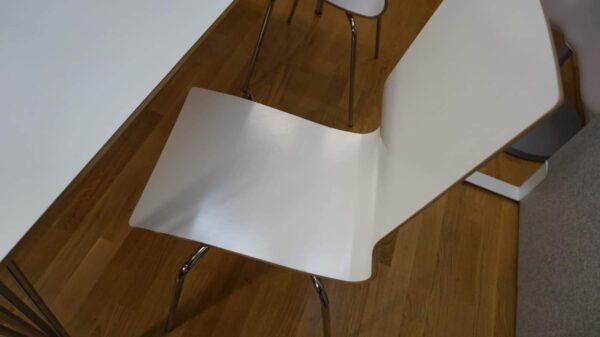 Lunchrumsgrupp bord och 4 Klaessons stolar #4014 #3010 - Stockholms Kontorsmöbler