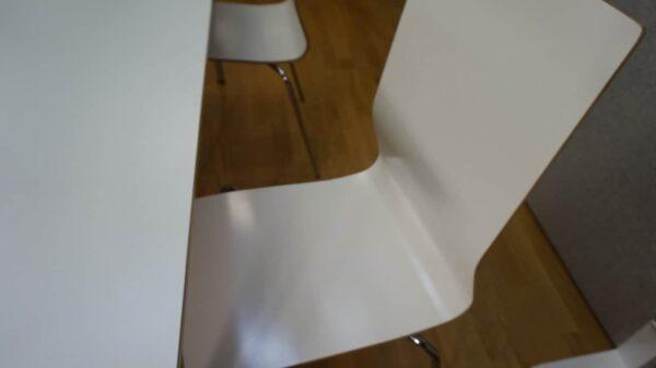 Konferensstol  vit - Klaesson #3010 - Stockholms Kontorsmöbler