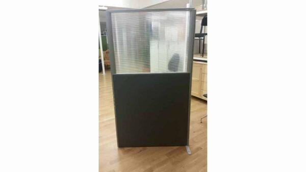 Skärmvägg grå #7010 - Stockholms Kontorsmöbler