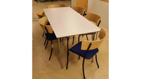Bord med 6st tolar #4034 - Stockholms Kontorsmöbler