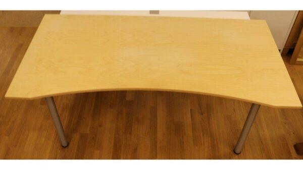 Skrivbord med mage #4025 - Stockholms Kontorsmöbler