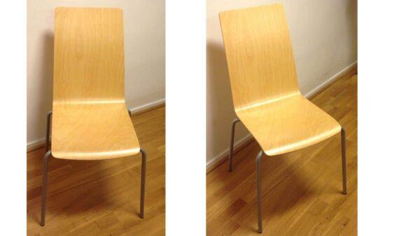 Konferensstol Basic Collection träfanér #3039 - Stockholms Kontorsmöbler