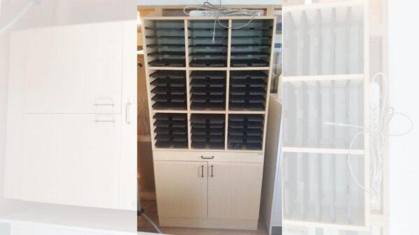 Postsorterings hylla #8008 - Stockholms Kontorsmöbler