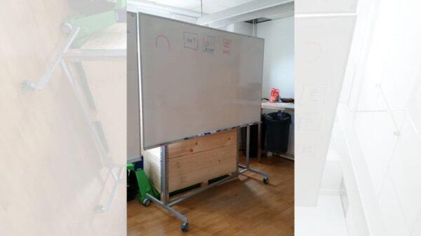 Whiteboard på hjul #8005 - Stockholms Kontorsmöbler